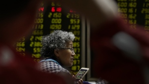 Shares higher in Asia after reassuring manufacturing data for China