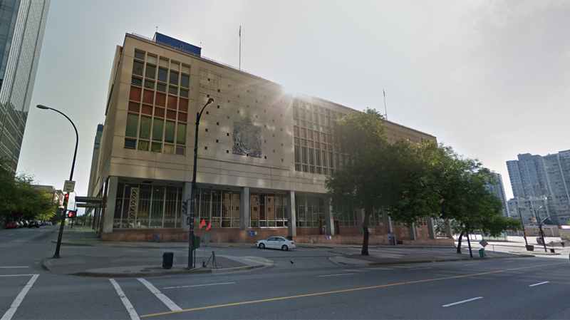 The former Canada Post building at 349 Georgia Street is seen in this undated Google Maps image.