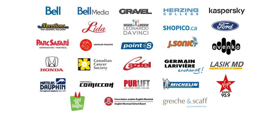 CTV Montreal creative services logos