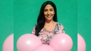 Reta Ismail's gender reveal