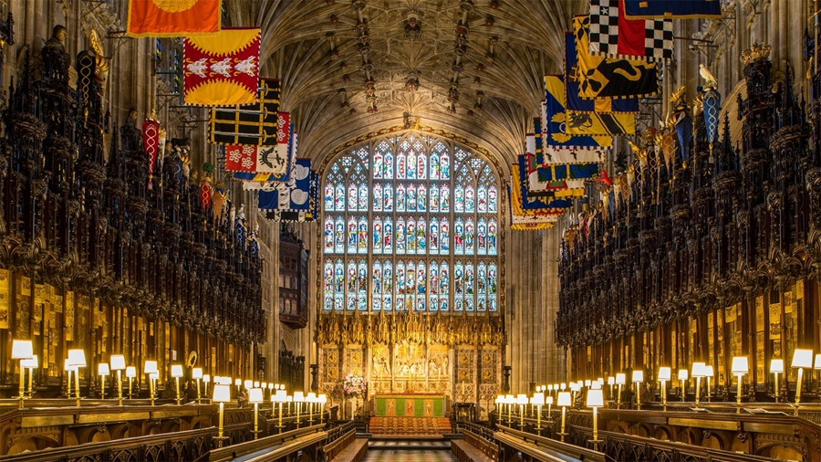 The Archbishop of Canterbury will officiate as Prince Harry and Meghan Markle make their vows at St George's Chapel.