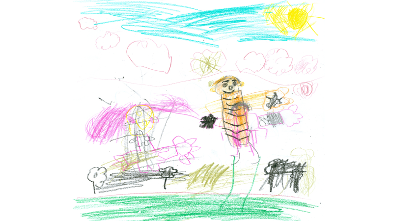 Serena Theriault, 6 years old, Grade 1, South Branch E.S., Kemptville