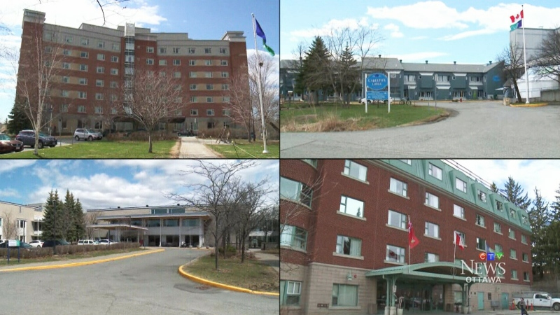 Ottawa long-term care homes.
