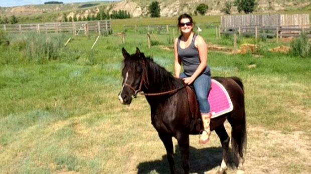 Kathy O'Reilly is heartbroken after learning her two horses sold to a slaughtering plant
