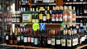 The institute recommends B.C. and other provinces put warning labels on alcohol, provide more funding for improved alcohol policies and better inform the public about the risks of alcohol use. (File photo)
