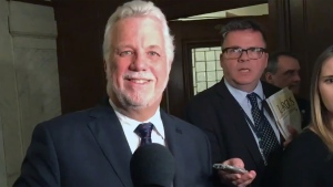 Philippe Couillard and Jean-Francois Lisée have agreed to debate in English in advance of the October 2018 election