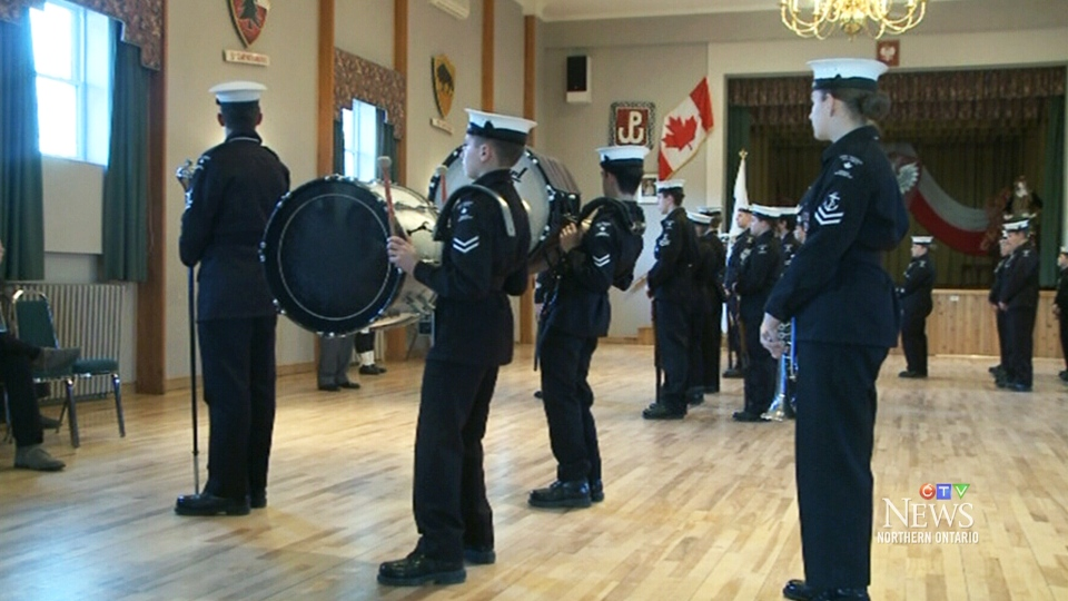 Sudbury cadet corps marks 75 anniversary