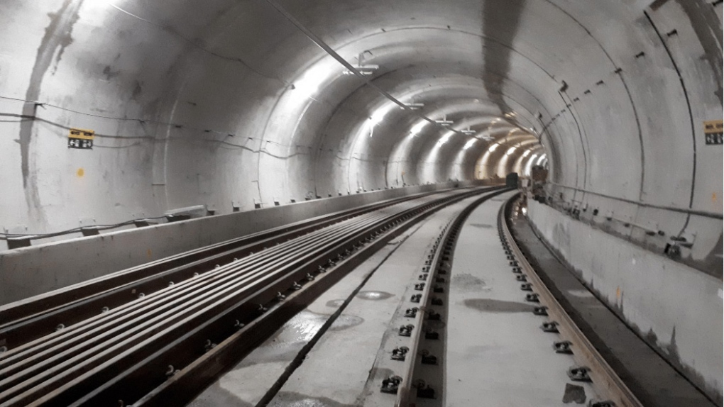 LRT in the Capital: Tunnel Tracks