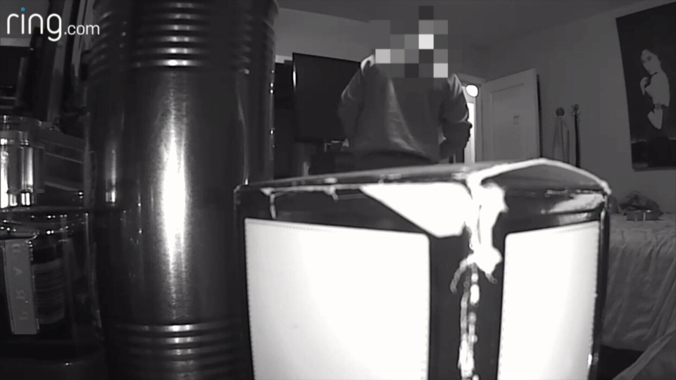 Video appears to show a member of the Abbotsford Police Department putting cash in his sock, something the officer said was meant as a practical joke.