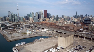 Toronto's Eastern Waterfront is seen in this undated photo. (THE CANADIAN PRESS / HO, Sidewalk Labs)