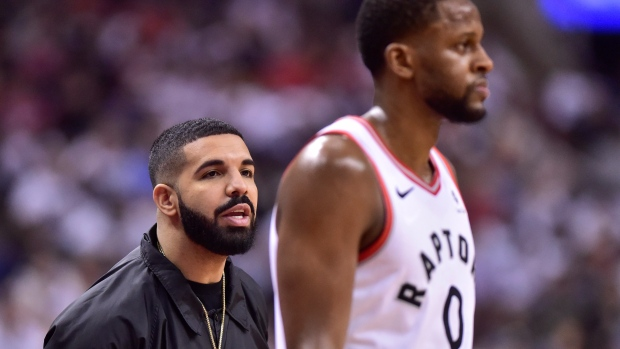 National Basketball Association reportedly warns Drake about 'bad language' after Kendrick Perkins incident