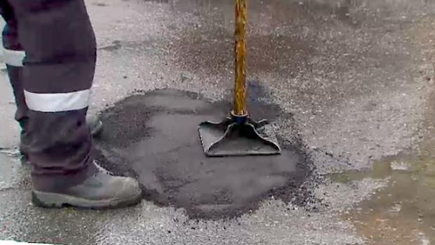 Potholes in Toronto