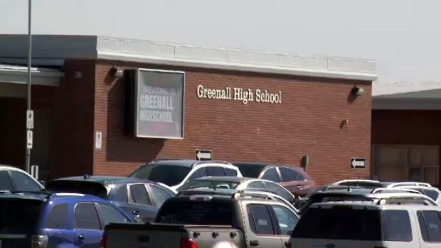 Greenall High School in Balgonie, Sask.