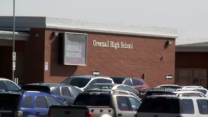 Greenall High School in Balgonie, Sask.