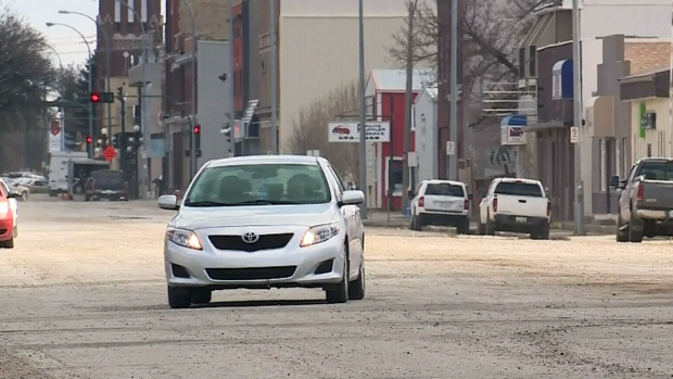 Moose Jaw streets among worst rankings