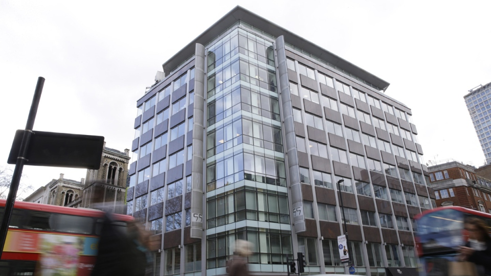 Cambridge Analytica offices in London, England