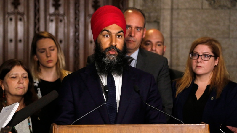 NDP Leader Jagmeet Singh removes Saskatchewan MP Erin Weir from caucus
