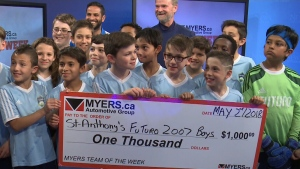 Myers Team of the Week: Futuro Soccer Academy