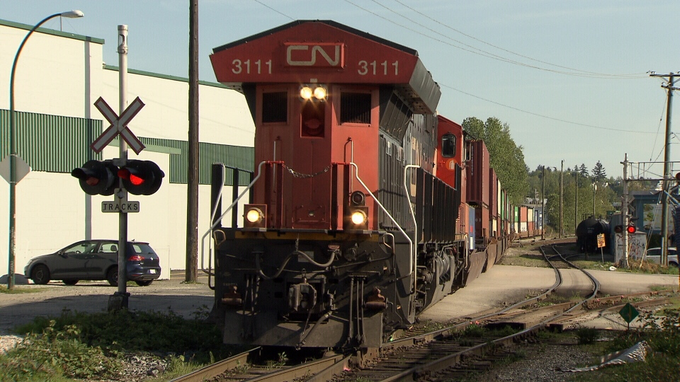 Strathcona residents say they're fed up with noisy trains running through their neighbourhood, sometimes late at night.