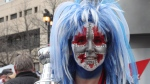 Digital videojournalist Megan Benedictson hit the Winnipeg Whiteout Street Party on May 3 to capture faces of fans decked out in the spirit of the playoffs.