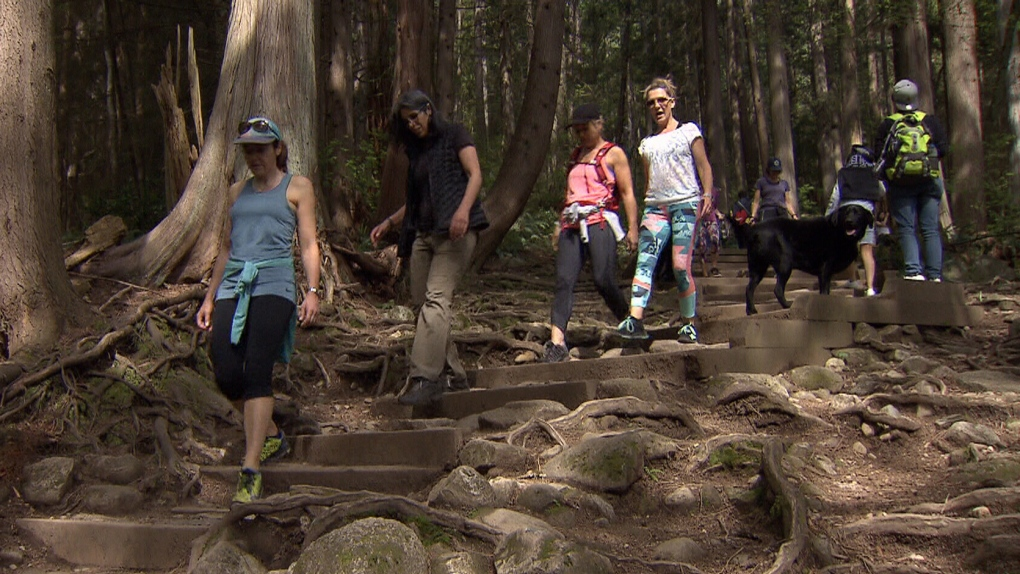 Officials to restrict Quarry Rock trail to 70 hikers at a time | CTV