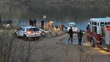 body found in South Saskatchewan River