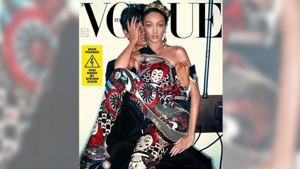 Gigi Hadid Vogue Italia