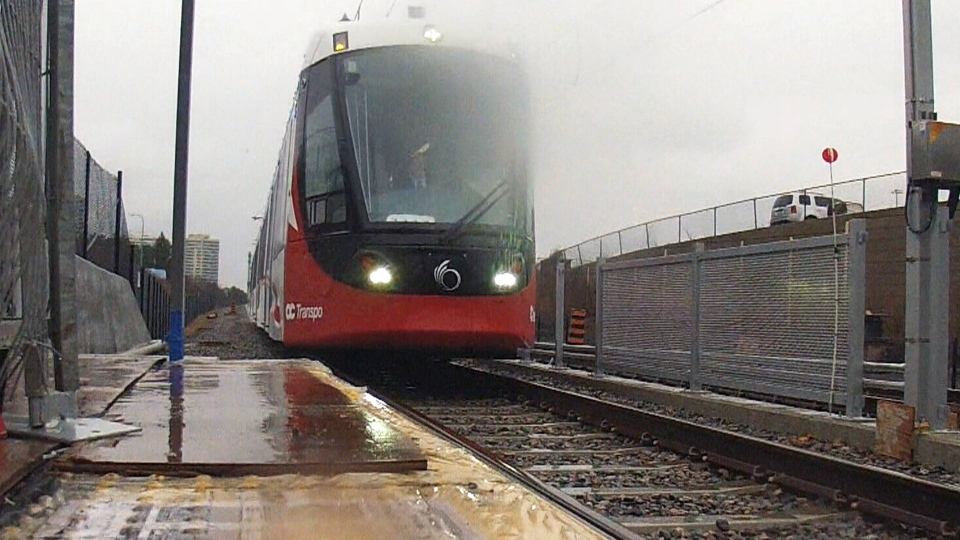 Milestone for Ottawa's LRT