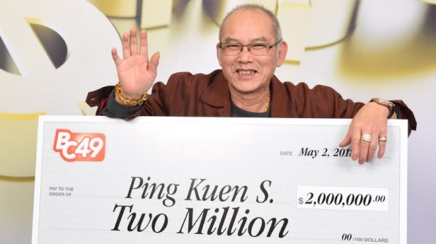BC man scores $2-million lottery jackpot on retirement day