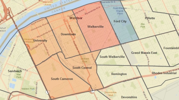 Wind warning and severe thunderstorm watch issued for region