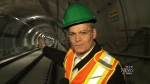 First look inside LRT tunnel