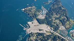 CTV Vancouver's Pete Cline captured downtown Vancouver, the Gulf Islands, Howe Sound and more during a recent flight in Chopper 9. (Photos from April 2018)