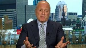 Former U.S. Ambassador to Canada Bruce Heyman on CTV's Question Period on Sunday, May 6, 2018. (CTV News)
