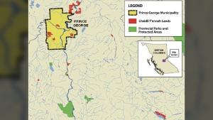 Overview of Lheidli T'enneh Lands (Lheidli T'enneh Final Agreement)