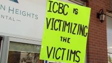 ICBC protest