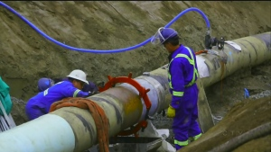 CTV National News: Trans Mountain pipeline