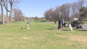 The Sault Ste. Marie Golf Club opened Friday