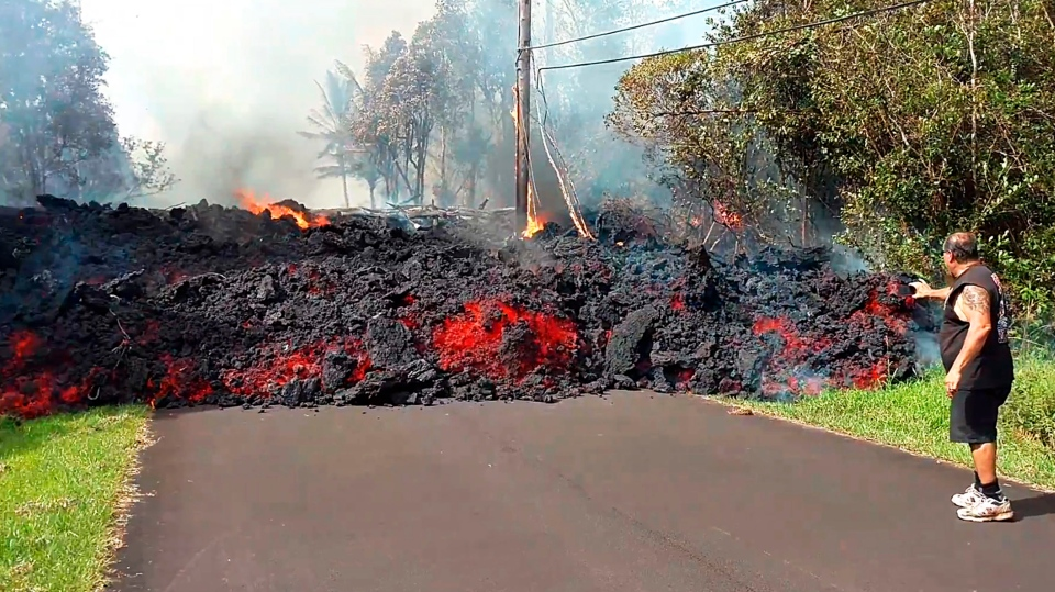 Hawaiian Volcanic Eruption Leaves Former Vancouver