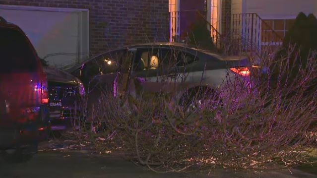 Dartmouth Home Damaged After Car Smashes Into Vehicles In Driveway