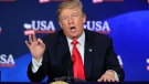 U.S. President Donald Trump speaks during a roundtable discussion on tax reform at Cleveland Public Auditorium and Conference Center in Cleveland, Ohio. (AP Photo/Manuel Balce Ceneta)