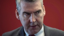 Premier Stephen McNeil said the price of gasoline would have gone up 11 cents per litre and electricity rates would have risen eight per cent if Ottawa had created a carbon tax system in the province. (DARREN CALABRESE / THE CANADIAN PRESS)