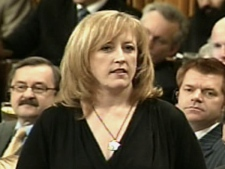 Minister of Natural Resources, Lisa Raitt, during Question Period, Thursday, June 4, 2009.