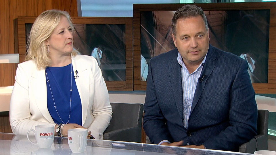Deputy Conservative leader Lisa Raitt and her husband Bruce Wood are still focusing on the positive two years after he was diagnosed with early onset Alzheimer's. (CTV Power Play)
