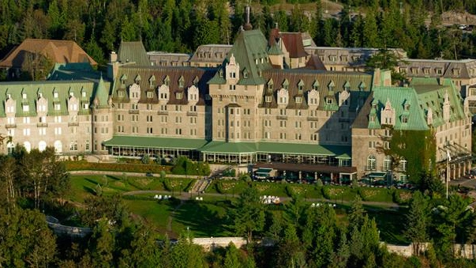 The Manoir Richelieu in Charlevoix, Quebec