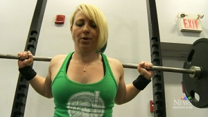 Forty-year-old Jennifer Hotner won gold in her first-ever weightlifting competition.