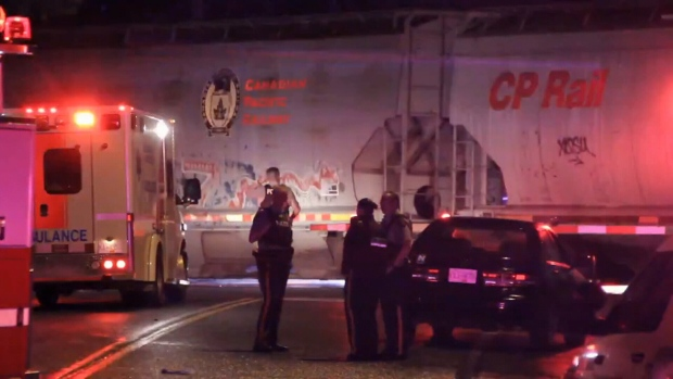 Two girls hit by train near Chilliwack