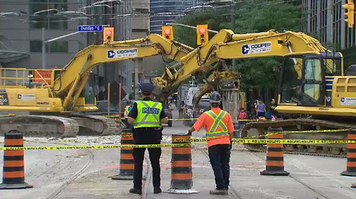 Image result for toronto construction