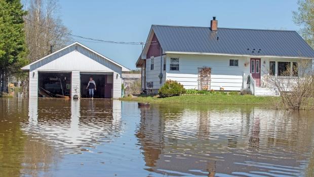 New Brunswick flooding 2018