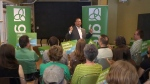 Green leader launches campaign for Guelph seat