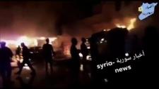 Missiles hit Syria